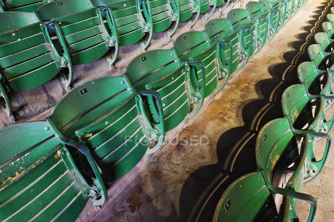 Rodeo arena seating in Fort Worth, Texas, USA — Stock Photo