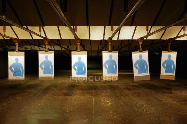 Campo de tiro con objetivos, Bradenton, Florida, EE.UU. - foto de stock