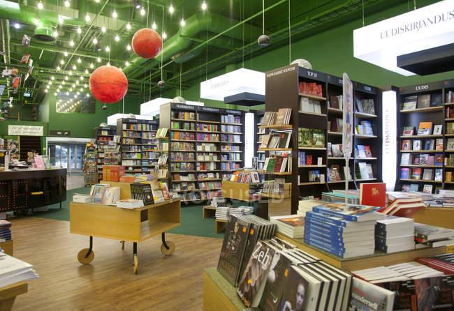 Lojas de livros em Tartu, Estonia — Fotografia de Stock
