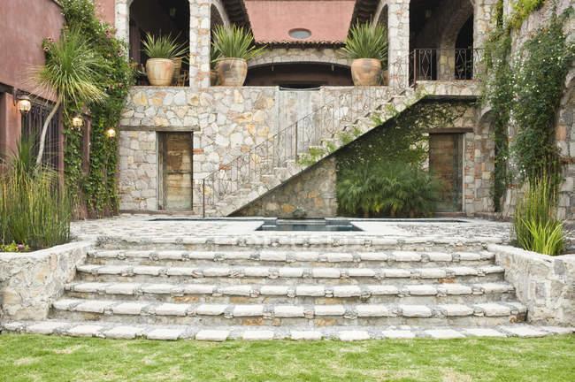 Кроки, щоб Casa Luna ранчо, Сан Мігель де Альєнде, Мексика — стокове фото