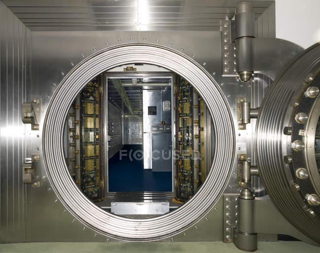 Gewölbe im Gebäudeinneren Geschäftsbank, Chicago, Illinois, Usa — Stockfoto