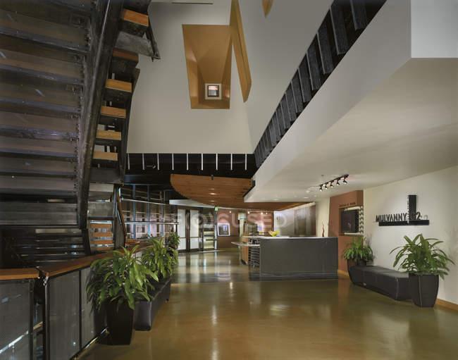 Modern office interior in Seattle, Washington, USA — Stock Photo