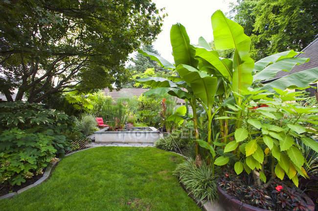 Landschaftsgartenteil, Portland, Oregon, Usa — Stockfoto