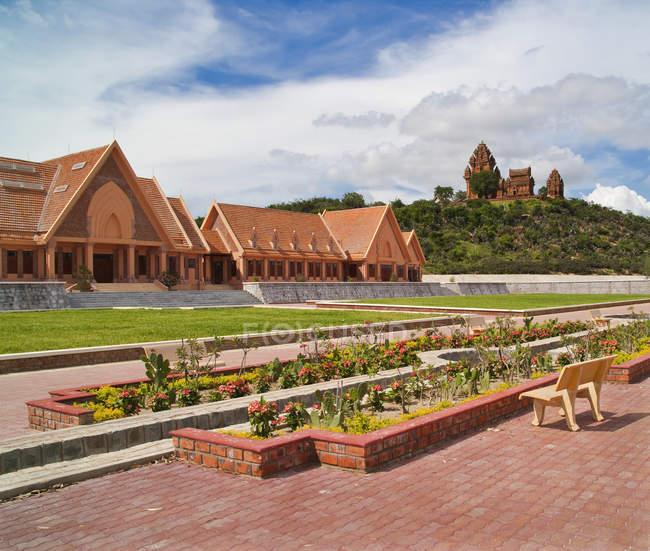 Visitor center for Cham temple, Po Klaung Garai, Vietnam, Asia — Stock Photo