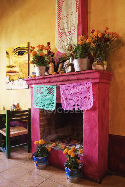 День мертвих вівтаря, Сан-Мігель де Альєнде, Гуанахуато, Мексика — стокове фото