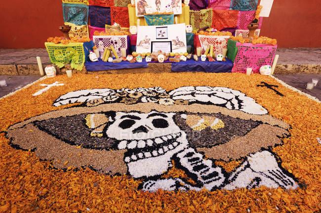 День мертвих робіт, Сан-Мігель де Альєнде, Гуанахуато, Мексика — стокове фото