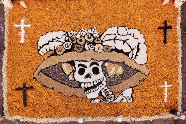 Oeuvre d'art Jour des Morts, San Miguel de Allende, Guanajuato, Mexique — Photo de stock