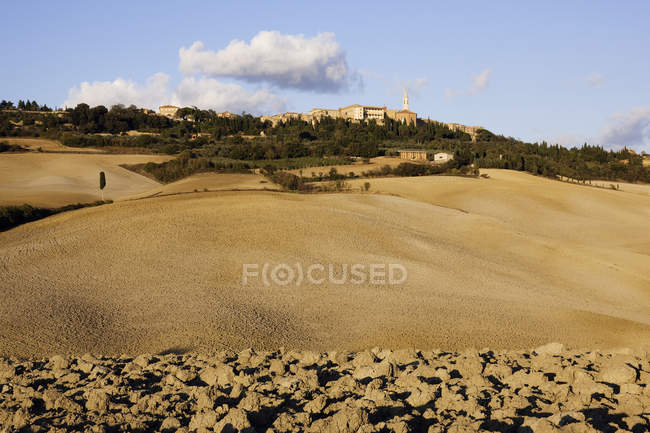Hill town of Pienza in Italy, Europe — Stock Photo