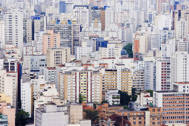 Bâtiments du centre-ville de Sao Paulo, Brésil — Photo de stock