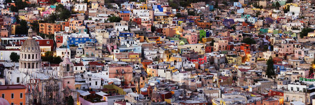 В центре города Гуанахуато, Мексика — стоковое фото