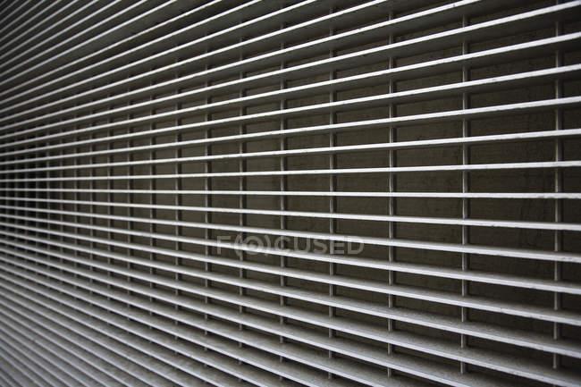 Промышленные стальные линии решетки, полный каркас — стоковое фото