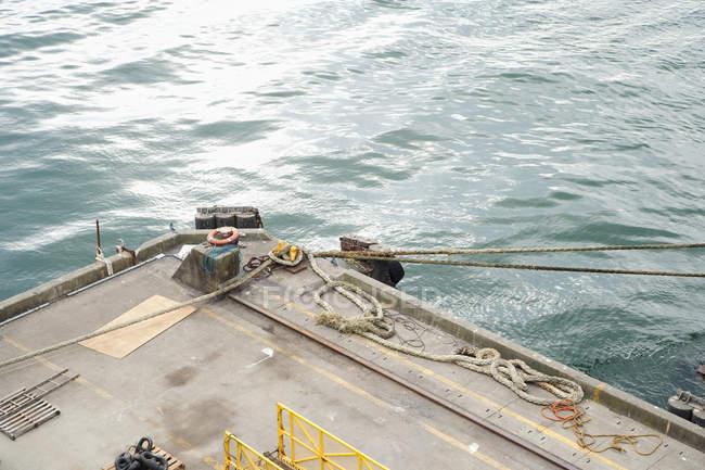 Ponte di nave a Vancouver, Columbia Britannica, Canada — Foto stock