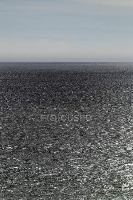 Paysage de vastes eaux océaniques, ciel et horizon, Oswald West State Park, Manzanita, Oregon, USA — Photo de stock