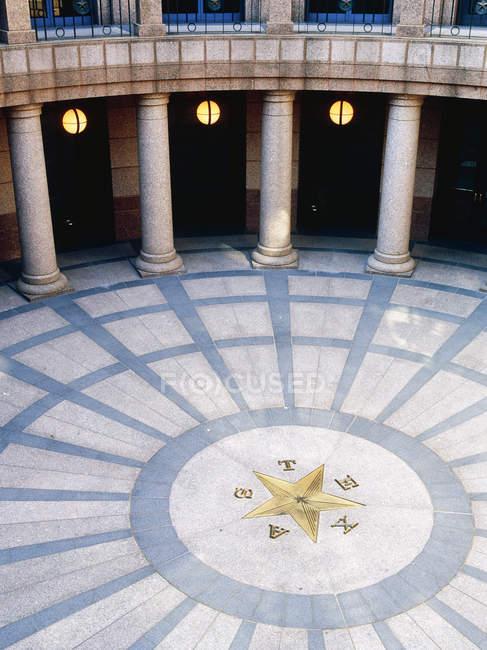 Rotunda in Texas State Capitol building, Austin, Texas, USA — Foto stock
