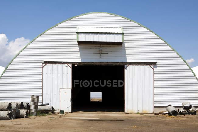Будівництво фермерського господарства, Палхаус, Вашингтон, США — стокове фото