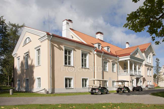 Bâtiment du manoir Vihula extérieur, Laane-Viru, Estonie — Photo de stock