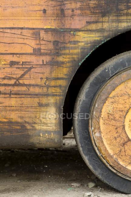 Колесо завантаження транспортного засобу в Сіетлі, штат Вашингтон, США — стокове фото
