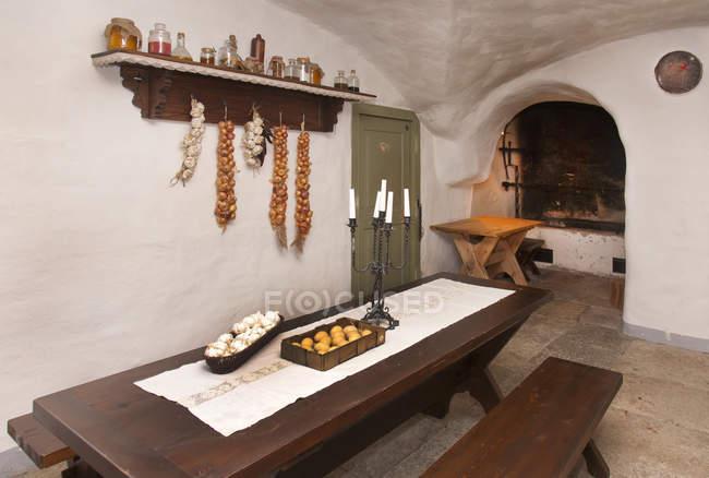 Підвальні кухні для КПК, КПК, Естонії — стокове фото