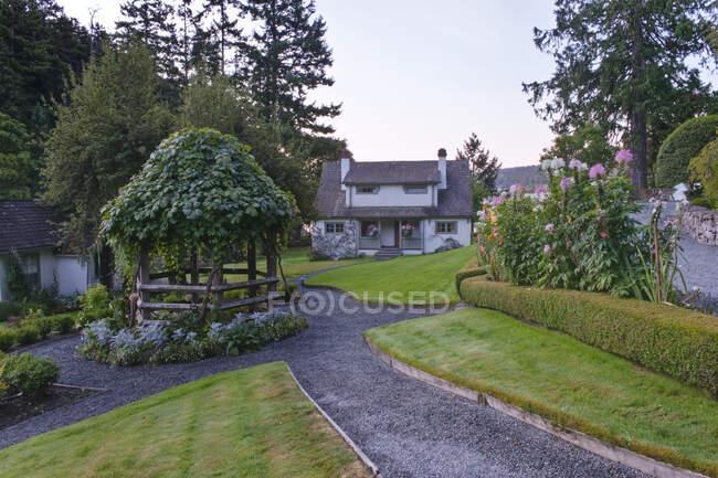 Hastings House Salt Spring Island, British Columbia, Canada — Stock Photo