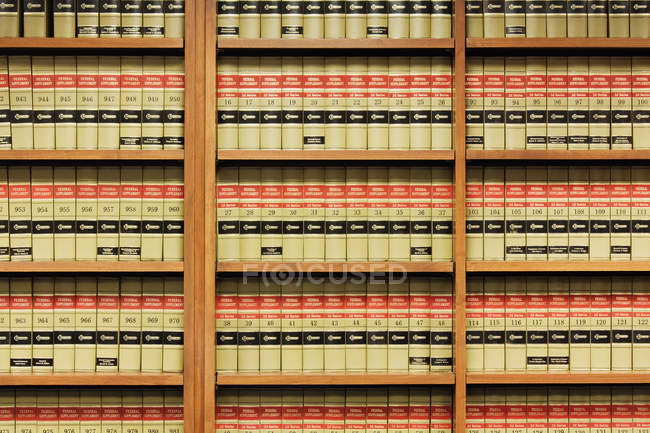Estantes en Dallas, Texas, Estados Unidos - foto de stock