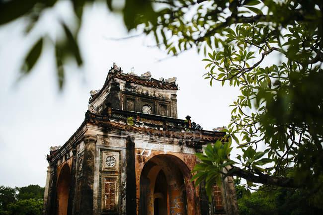 Tu Duc túmulo e Palácio de Verão em Hue, Vietnã . — Fotografia de Stock