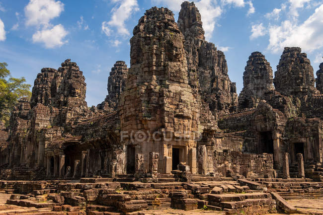 Ruínas no complexo de templos Angkor Wat, Camboja — Fotografia de Stock