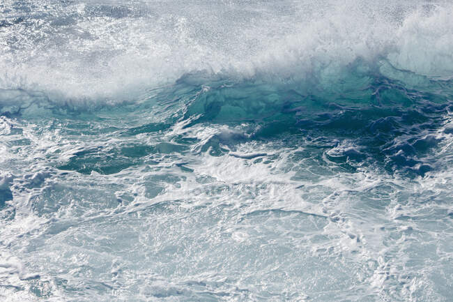 Churning ocean water and waves, Point Lobos State Reserve, California — Stock Photo
