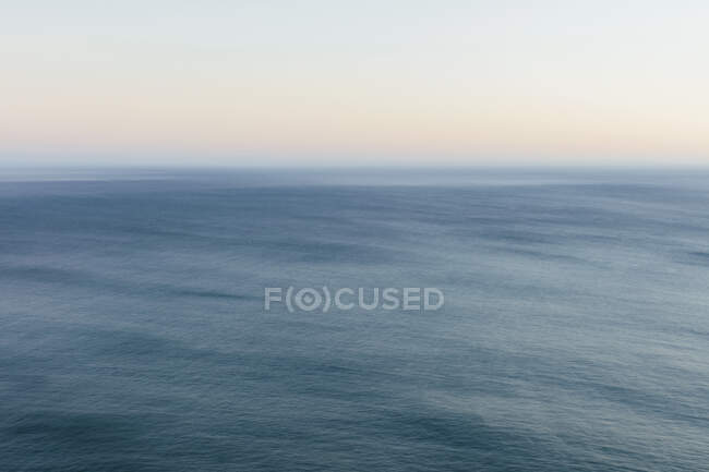 Ocean seascape, view to the horizon over the water surface. — стокове фото