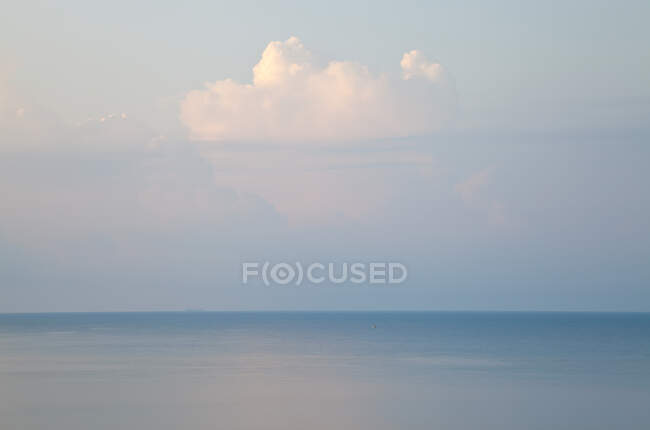 Clouds and seascape, Rhodes, Greece — Stock Photo