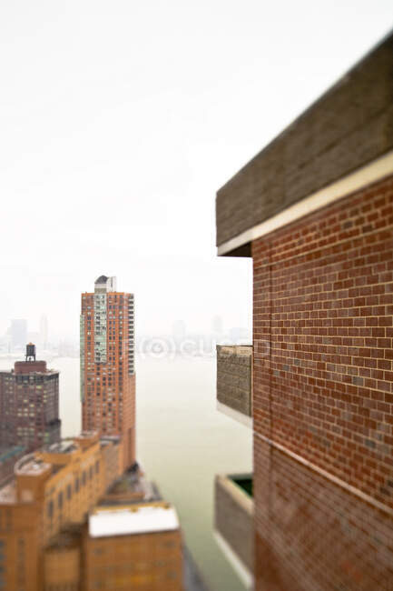 Grattacieli urbani. — Foto stock