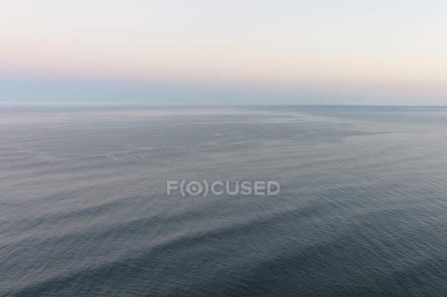 Seelandschaft im Morgengrauen, Mananita, Oregon — Stockfoto