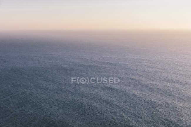 Vast ocean and sky at dusk, Manzanita, Oregon — Stock Photo
