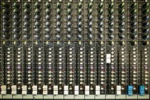 Attrezzatura professionale dello studio della TV — Foto stock