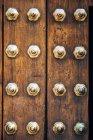 Porte en bois ancienne — Photo de stock