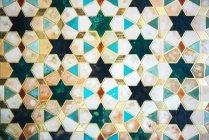 Azulejos antigos ornamentados — Fotografia de Stock