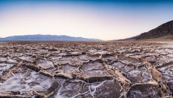 Badwater Basin in Death Valley — Stock Photo