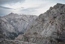 Bella catena montuosa — Foto stock