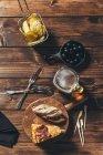 Типичные испанские закуски тапас — стоковое фото