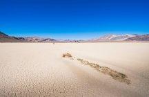 Жінка вигулює у долині смерті — стокове фото