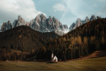 San Giovanni Val di Funes, — стокове фото