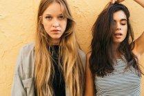 Belle ragazze giovani — Foto stock