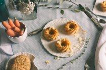 Ciambelle con scaglie di cioccolato — Foto stock