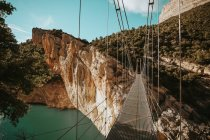 Mont-Rebei Canyon, Lleida, Spain — Stock Photo