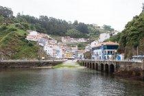 Cudillero village in Asturias — Stock Photo
