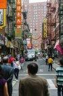 Chinatown, Manhattan, New York — Stock Photo