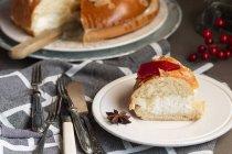 Роскон де Рейес, Іспанська десерт — стокове фото