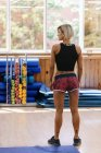 Beautiful Athletic Woman — Stock Photo