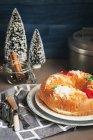Roscon de reyes, dessert espagnol — Photo de stock