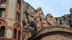 Монтсеррат монастир, області, Іспанія — стокове фото