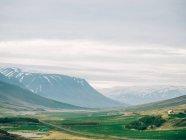 Paesaggio scenico dell'Islanda — Foto stock